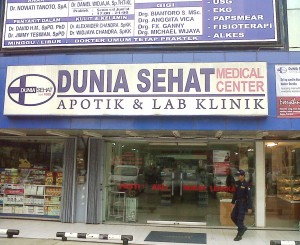 Foredi di Jakarta Pusat dan Utara