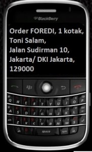 Order FOREDI Sekarang